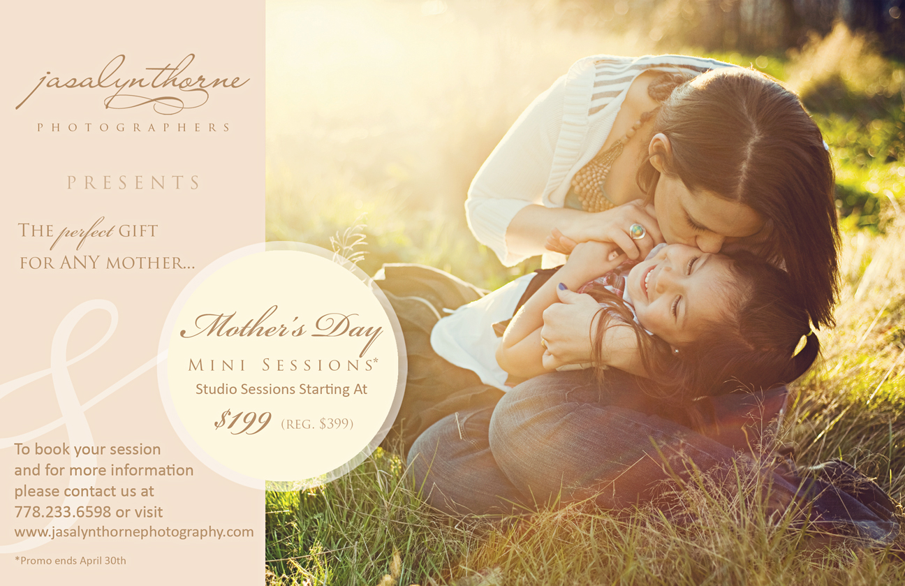Mothers Day Photo Shoot Vancouver Family Photographer
