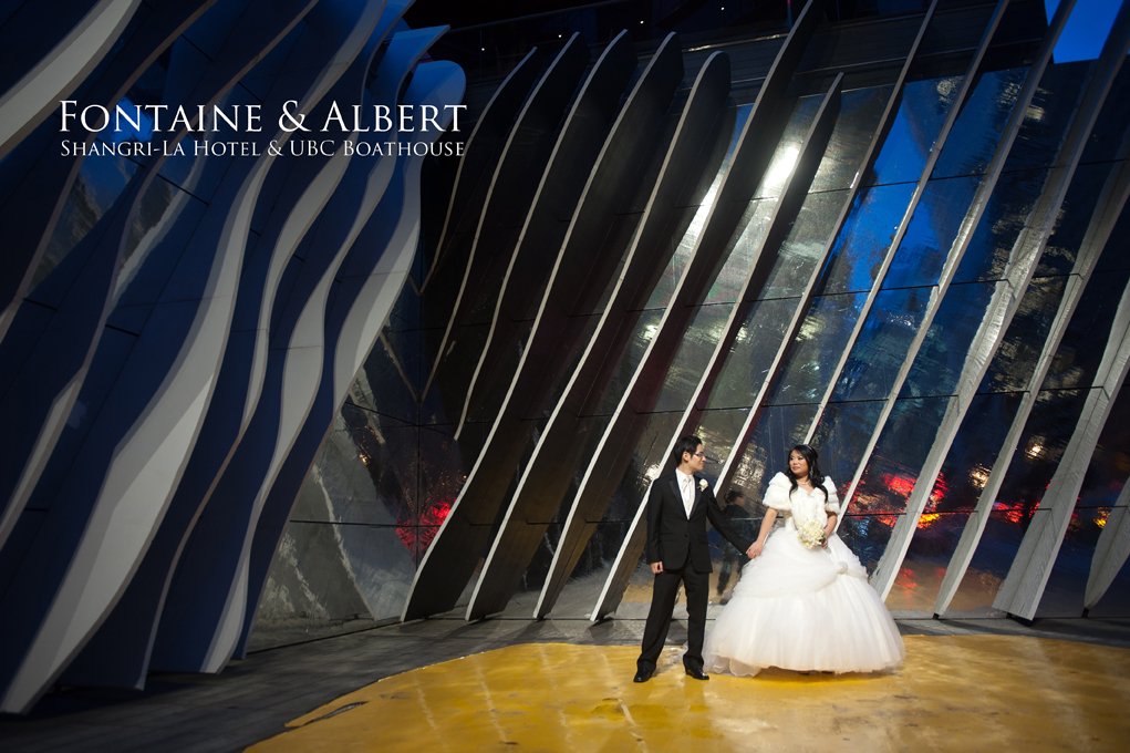 Shangri la hotel and UBC Boathouse wedding photography