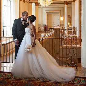 Fairmont Hotel Vancouver - Vancouver Wedding Photography by Jasalyn Thorne